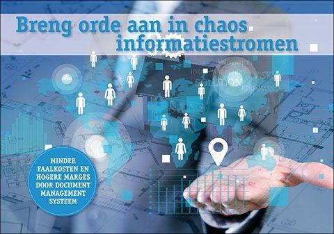 Breng orde aan in chaos informatiestromen met DMS