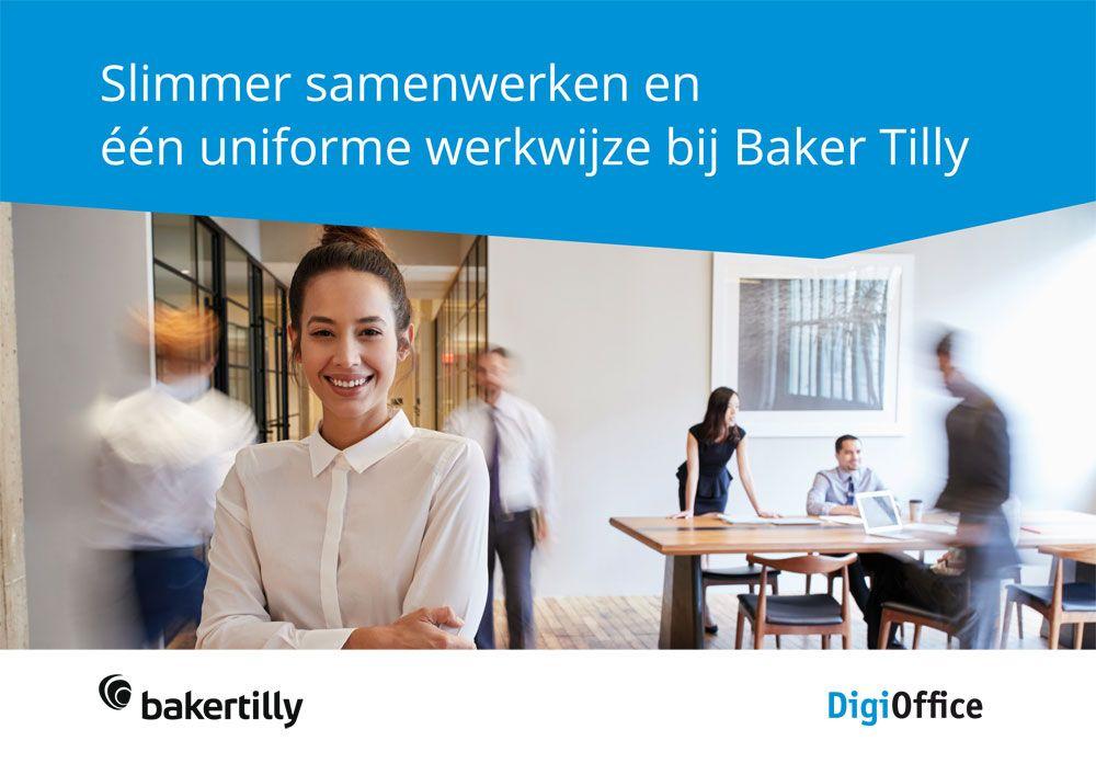 Whitepaper Slimmer samenwerken en een uniforme werkwijze bij Baker Tilly